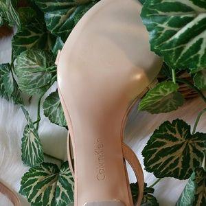 Calvin Klein Shoes - Calvin Klein|Narella|Nude|Heel